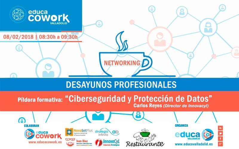 Desayunos profesionales Educa Cowork en Valladolid el 08/02/2018